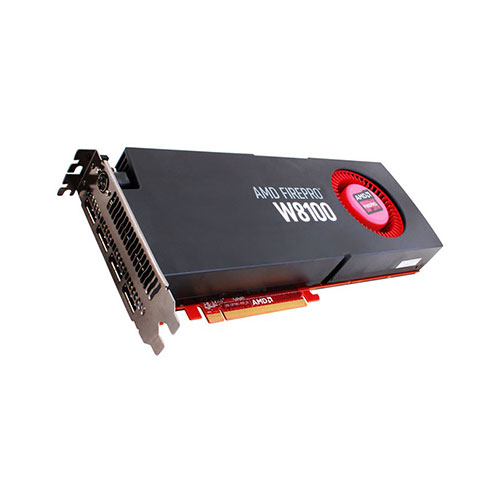 AMD GRAPHICS CARD FIREPRO W8100 8GB GDDR5
