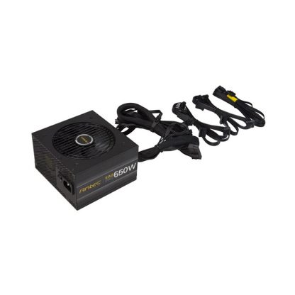 ANTEC SMPS EA650G PRO - 650 WATT 80 PLUS GOLD CERTIFICATION SEMI MODULAR PSU