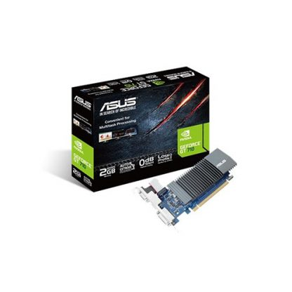 ASUS GRAPHICS CARD GT 710 2GB GDDR5 LP ZONE EDITION (GT710-SL-2GD5-BRK)