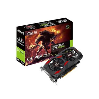 ASUS GRAPHICS CARD PASCAL SERIES - GTX 1050 TI 4GB GDDR5 CERBERUS OC EDITION