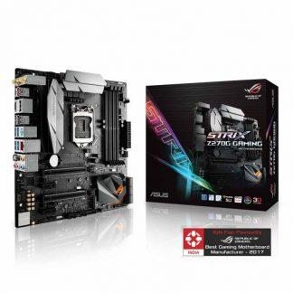 ASUS ROG STRIX Z270G GAMING Motherboard (Intel Socket 1151/7th And 6th Generation Core Series CPU/Max 64GB DDR4-4000MHz Memory)