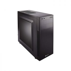 CORSAIR 100R (ATX) Mid Tower Cabinet - With Transparent Side Panel (Black)