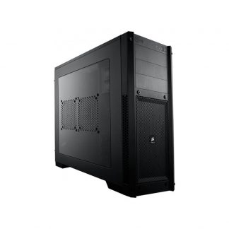 CORSAIR 300R (E-ATX) Mid Tower Cabinet - With Transparent Side Panel (Black)