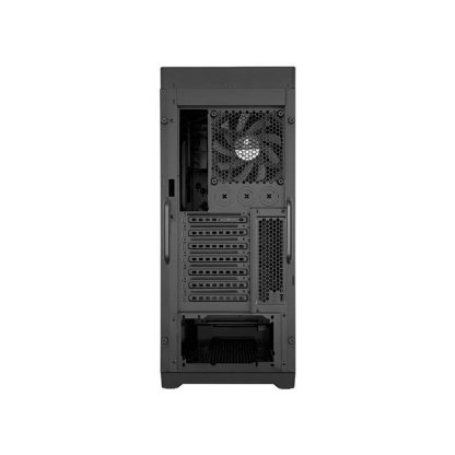 CORSAIR 450D (E-ATX) Mid Tower Cabinet - With Transparent Side Panel (Black)