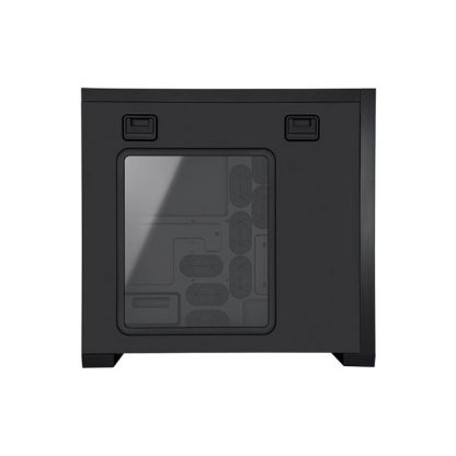 CORSAIR 650D (ATX) Mid Tower Cabinet - With Transparent Side Panel (Black)