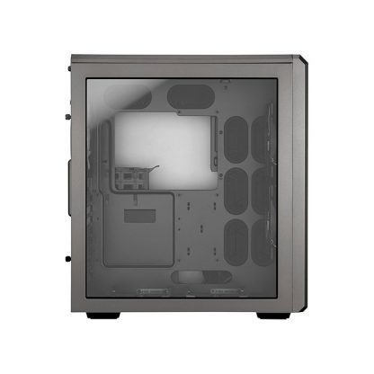 CORSAIR AIR 540 (E-ATX) Mid Tower Cabinet - With Transparent Side Panel (Silver)