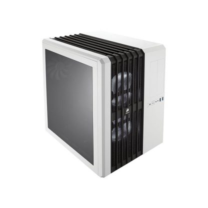CORSAIR AIR 540 (E-ATX) Mid Tower Cabinet - With Transparent Side Panel (White)