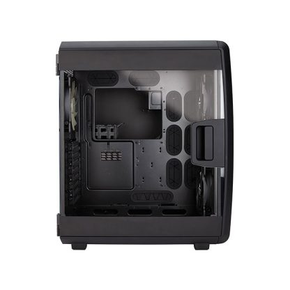 CORSAIR AIR 740 HIGH AIRFLOW (ATX) Mid Tower Cabinet - With Transparent Side Panel (Black)