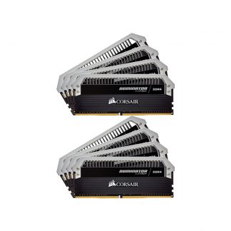 CORSAIR Desktop Dominator Platinum Series - 128GB (16GBx8) DDR4 3000MHz RAM (CMD128GX4M8B3000C16)
