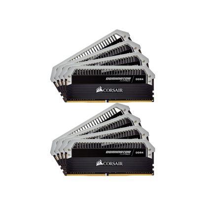 CORSAIR Desktop Dominator Platinum Series - 128GB (16GBx8) DDR4 3000MHz RAM (CMD128GX4M8B3000C16)