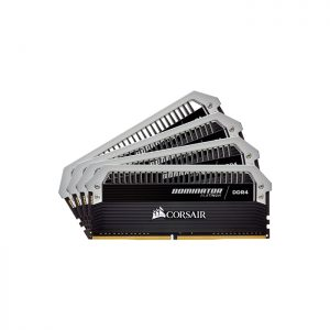 CORSAIR Desktop Dominator Platinum Series - 32GB (8GBx4) DDR4 3000MHz RAM (CMD32GX4M4C3000C15)