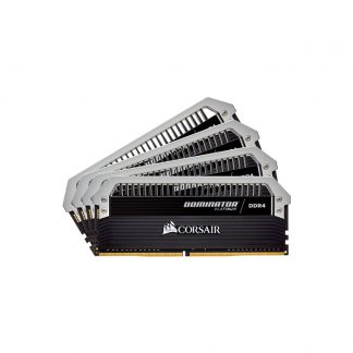 CORSAIR Desktop Dominator Platinum Series - 32GB (8GBx4) DDR4 3000MHz RAM (CMD32GX4M4C3000C15)