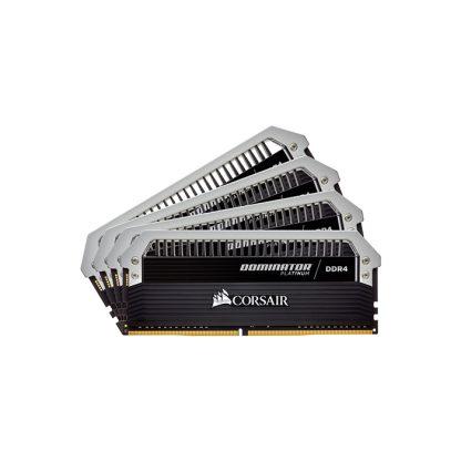 CORSAIR Desktop Dominator Platinum Series - 64GB (16GBx4) DDR4 3000MHz RAM (CMD64GX4M4C3000C15)
