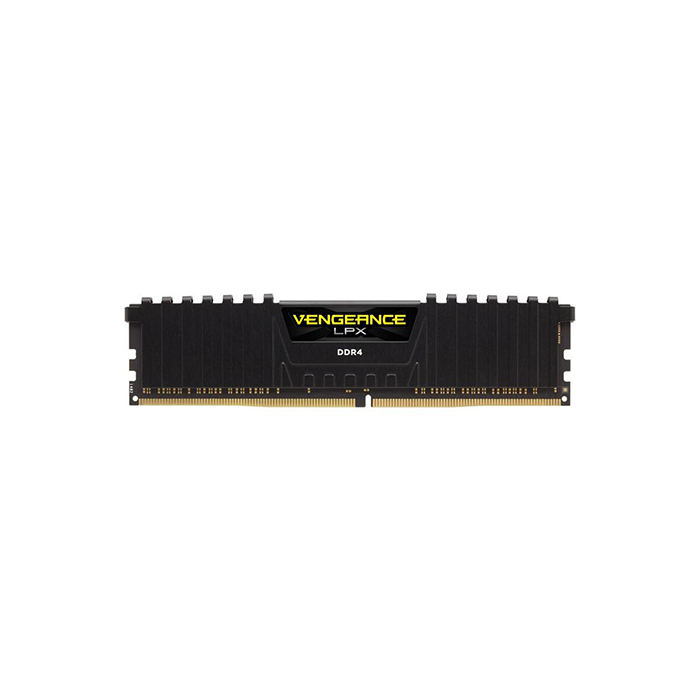 CORSAIR Desktop Ram Vengeance Lpx Series - 4GB (4GBx1) DDR4 2400MHz Black