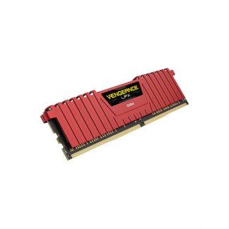 CORSAIR Desktop Vengeance LPX Series - 8GB (8GBx1) DDR4 2400MHz Red RAM (CMK8GX4M1A2400C16R)