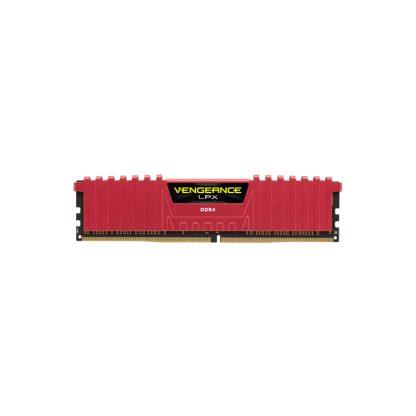 CORSAIR Desktop Ram Vengeance Lpx Series - 8GB (8GBx1) DDR4 2400MHz Red