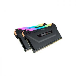 CORSAIR Desktop Vengeance RGB Pro Series - 16GB (8GBx2) DDR4 3000MHz RAM (CMW16GX4M2C3000C15)