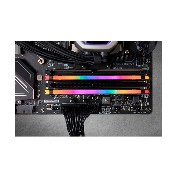 CORSAIR Desktop Ram Vengeance RGB Pro Series - 16GB (8GBx2) DDR4 3000MHz