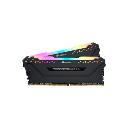 CORSAIR Desktop Ram Vengeance RGB Pro Series - 16GB (8GBx2) DDR4 3000MHz