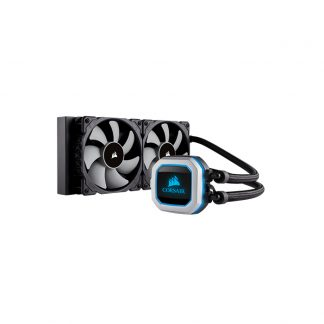 CORSAIR Hydro Series H100i PRO RGB, 240mm Radiator Liquid CPU Cooler