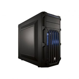 CORSAIR MID TOWER CABINET (ATX) - SPEC 3 WITH TRANSPARENT SIDE PANEL LED (BLUE)