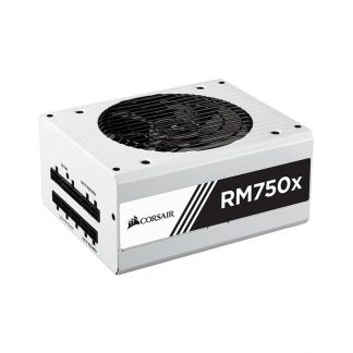 CORSAIR SMPS RM750X WHITE - 750 WATT 80 PLUS GOLD CERTIFICATION FULLY MODULAR PSU