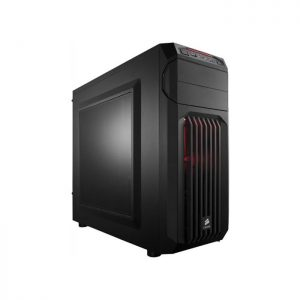 CORSAIR SPEC 1 (ATX) Mid Tower Cabinet - With Transparent Side Panel (Red)