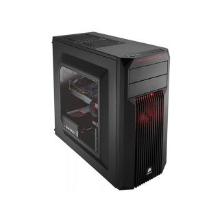 CORSAIR SPEC 2 (ATX) Mid Tower Cabinet - With Transparent Side Panel (Red)