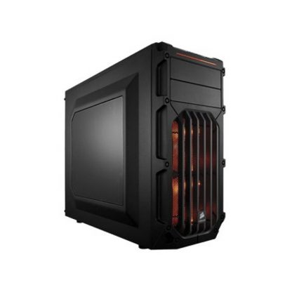 CORSAIR SPEC 3 (ATX) Mid Tower Cabinet - With Transparent Side Panel (Orange)
