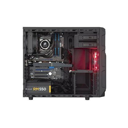 CORSAIR SPEC 3 (ATX) Mid Tower Cabinet - With Transparent Side Panel (Red)