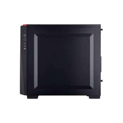 CORSAIR SPEC 4 (ATX) Mid Tower Cabinet - With Tempered Glass Side Panel (Black/Red)