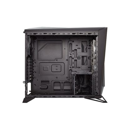 CORSAIR SPEC-ALPHA (ATX) Mid Tower Cabinet - With Transparent Side Panel (Black/Silver)