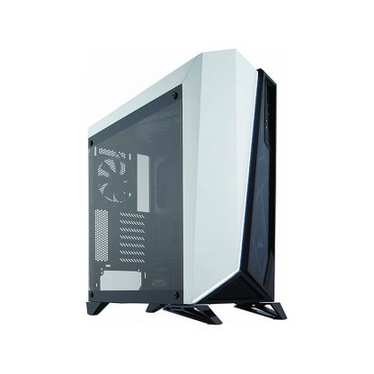 CORSAIR SPEC OMEGA (ATX) Mid Tower Cabinet - With Tempered Glass Side Panel (Black/White)
