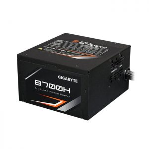 GIGABYTE B700H SMPS - 700 Watt 80 Plus Bronze Certification PSU With Active PFC