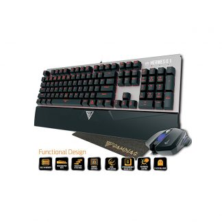 Gamdias Hermes E1 Mechanical keyboard + Mouse + Mouse Pad Combo