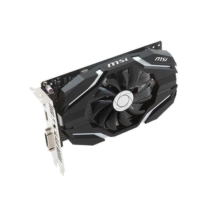 Msi GeForce GTX 1050 Ti 4G OCV1 Graphics Card