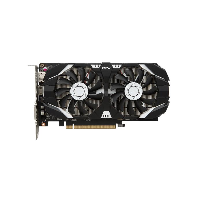Msi GeForce GTX 1050 Ti 4GT OCV1 Graphics Card