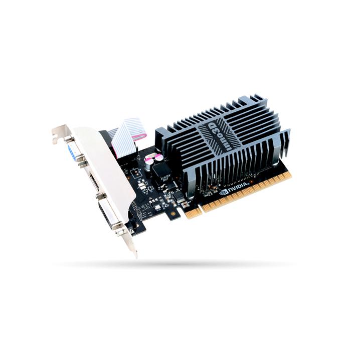 INNO3D GEFORCE GT 710 2GB DDR3 LP Graphics Card