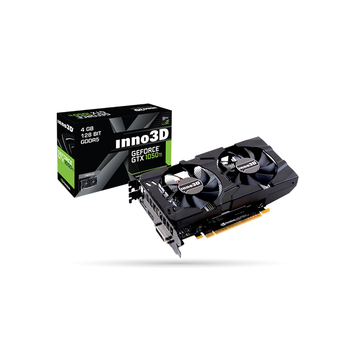 INNO3D GEFORCE GTX 1050 TI X2 GRAPHIC CARD