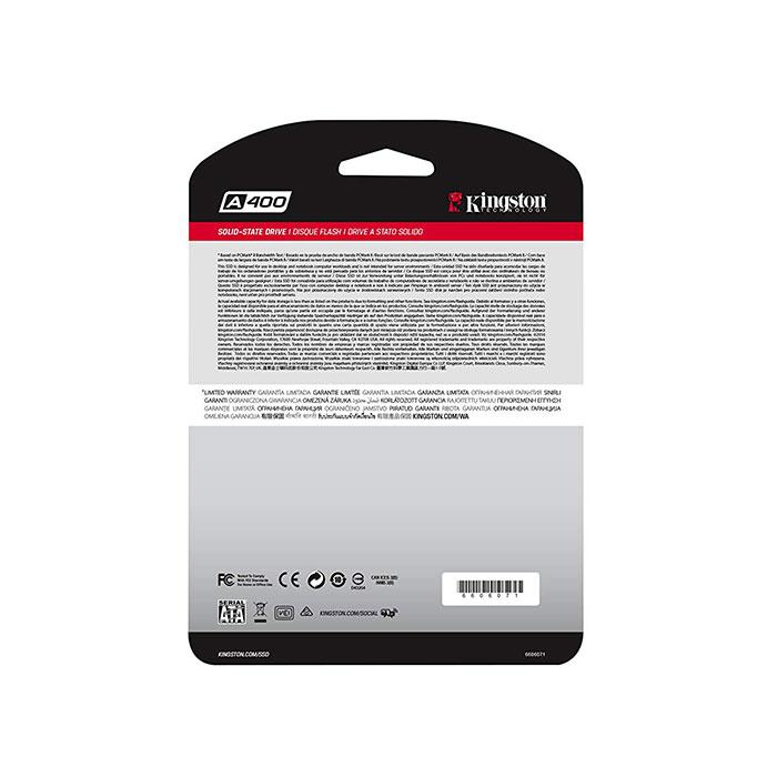KINGSTON A400 240GB Internal SSD