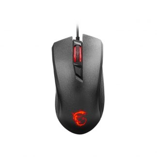 MSI Clutch GM10 Optical Gaming Mouse 2400 DPI with Illuminated Wheel with 4-level LED Backlight