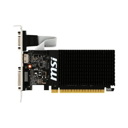 MSI GRAPHICS CARD GT 710 2GB DDR3 H LP