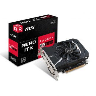 MSI GRAPHICS CARD RX 560 4GB GDDR5 AERO ITX OC 16 CU