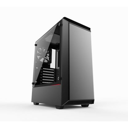 PHANTEKS ECLIPSE P300 (E-ATX) Mid Tower Cabinet - With Tempered Glass Side Panel (Black)