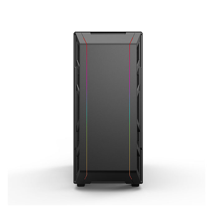 PHANTEKS ECLIPSE P350X (E-ATX) Mid Tower Cabinet - With Tempered Glass Side Panel And Digital RGB Controller (Black)