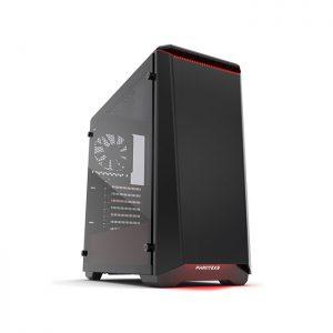 PHANTEKS ECLIPSE P400 (E-ATX) Mid Tower Cabinet (Red)(PH-EC416PTG-BR-S)