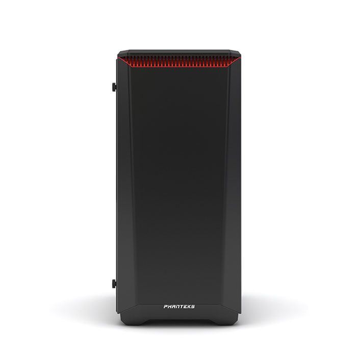 PHANTEKS ECLIPSE P400 (E-ATX) Mid Tower Cabinet - With Tempered Glass Side Panel (Red)