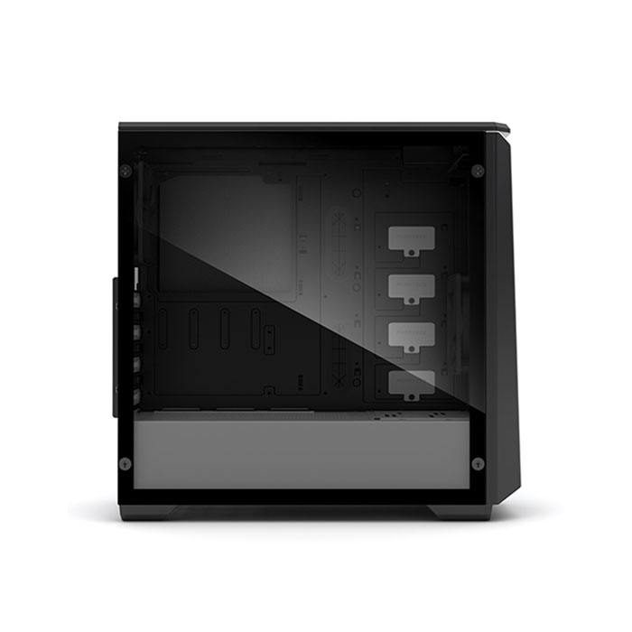 PHANTEKS ECLIPSE P400S (E-ATX) Mid Tower Cabinet - With Tempered Glass Side Panel And RGB Controller (Black-White)