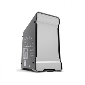 PHANTEKS ENTHOO EVOLV (E-ATX) Mid Tower Cabinet - With Tempered Glass Side Panel And RGB LED Controller (Silver) (PH-ES515ETG_GS)