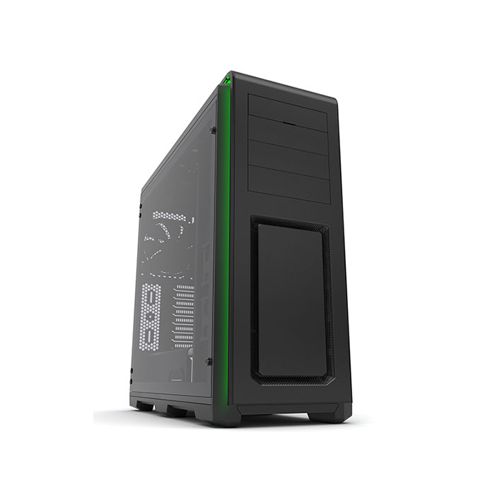 PHANTEKS ENTHOO LUXE (E-ATX) Full Tower Cabinet - With Tempered Glass Side Panel (Black)